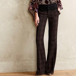 Anthropologie Brighton Plaid Trouser